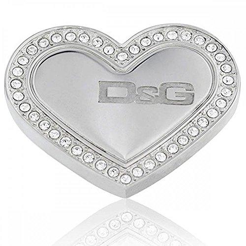 Dolce & Gabbana Dolce&Gabbana DJ0545 - Pulsera de Mujer de Acero Inoxidable con circonitas