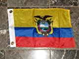 New - 12x18 12'',x18'', Country of Ecuador Boat Motorcycle Flag Brass Grommets by I.E.Y.online-store
