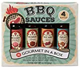 Modern Gourmet Foods, Set di Salse Barbecue Vintage, Include 4 Saporite Salse Barbecue...