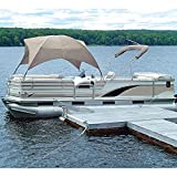 Taylor Made Products 12003OS Easy-Up Gazebo Shade Top (Sand) , 8'L x 102'W x 50'H