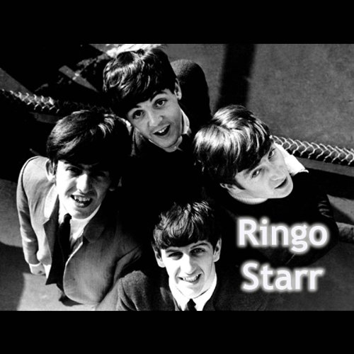 Ringo Starr audiobook cover art