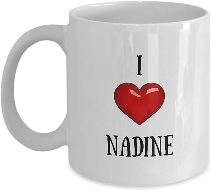 I Love Nadine Mug