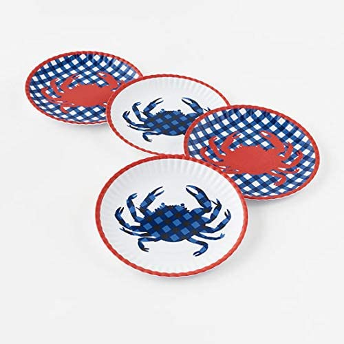 One Hundred 80 Degrees Opening 2021 autumn and winter new large release sale Melamine Seafood 4 Dinne Set of Plates 9