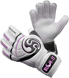 Blok-IT Goalkeeper Gloves Goalie Gloves-Make The Toughest Saves-Secure and Comfortable Fit-Extra Padding,ReducedChance of Injury