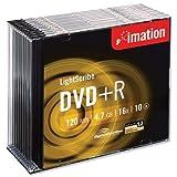 Imation DVD + R LightScribe Disco Grabable En Slim...