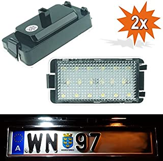 LED vxly01/Phil Trade /Éclairage de plaque min/éralogique /à LED Plaque d/'immatriculation Plaque d/'immatriculation Marquage E Xenon Do
