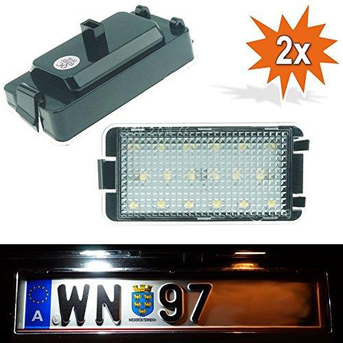 Xenon Do!LED O01ST08-Iluminación LED de matrícula apta, sin TÜV, con certificado E