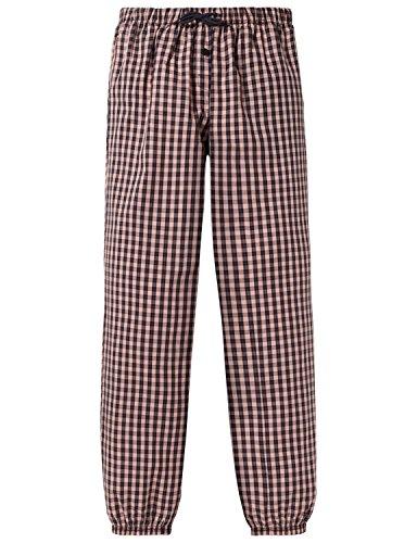Schiesser Mädchen Mix & Relax Webpants Schlafanzughose, Rot (Rosenholz 527), 176 (Herstellergröße: L)