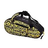 Wilson Minions Mini Bolsa de tenis, Amarillo/negro, WR8013901001