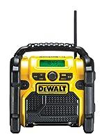 Dewalt DCR020-QW Radio para Obras Dab, batería/Cable, DCR020