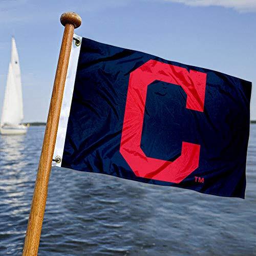 WinCraft Cleveland Baseball Boat and Golf Cart Flag