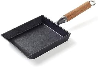 Sartén antiadherente, sartén de rollo de huevo, olla de tortilla cuadrada Sartén antiadherente sin recubrimiento Sartén de hierro fundido SarténOllas de cocina
