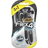 BIC Flex4 Maquinillas de Afeitar Desechables para Hombre - B