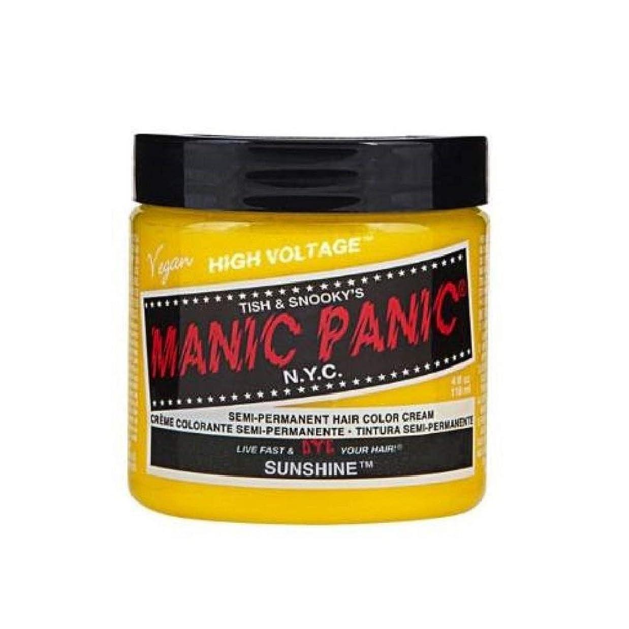 プロフェッショナル一時停止シャットMANIC PANIC マニックパニック 118ml Sunshine サンシャイン MC11040
