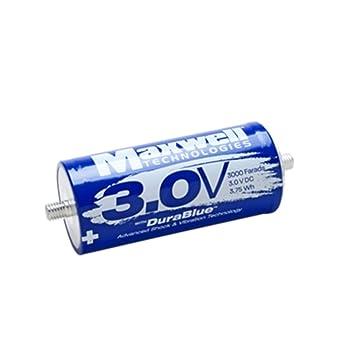 Maxwell Durablue 3.0V 3000F super condensatore Batteria Auto