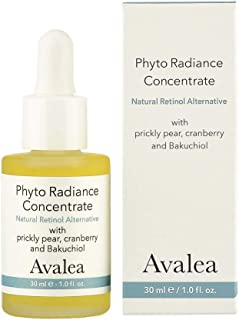 Phyto Radiance Concentrate with Bakuchiol - Natural Retinol Alternative for Fine Lines & Wrinkles - Anti-Aging - Avalea Skincare, 1.0 fl. oz.