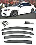 Extreme Online Store for 2015-Present Subari WRX & STi | EOS Visors JDM Clip On Style Side Rain Guard Window Visors Deflectors Vents