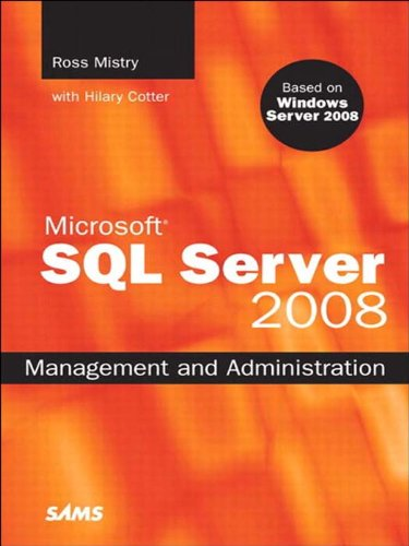 Microsoft SQL Server 2008 Management and Administration (English Edition)