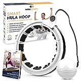 NitroActivity Smart Hula Hoop Reifen Erwachsene - Hoola Hoop Fitness Reifen mit Gewicht für...