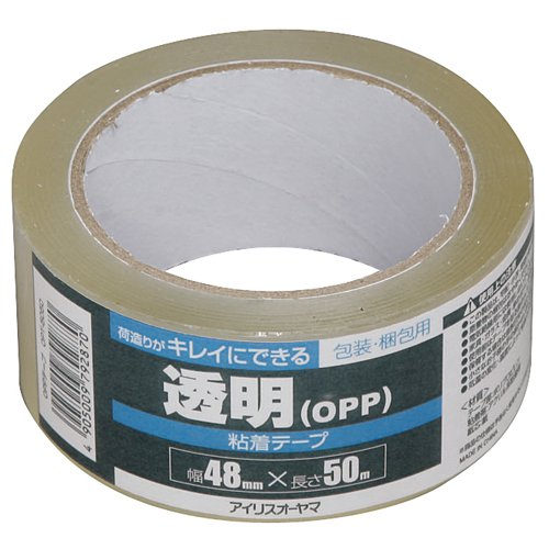 アイリスオーヤマ OPP テープ 48mm×50M OPT-5050