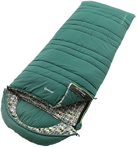 Outwell Camper Supreme Sleeping Bag Ausführung Reißverschluss rechts 2020 Schlafsack