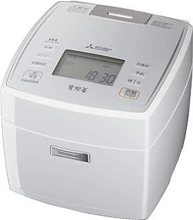三菱電機 日本製 IH炊飯器 新生活 備長炭炭炊釜 5.5合 ピュアホワイト NJ-VE108-W