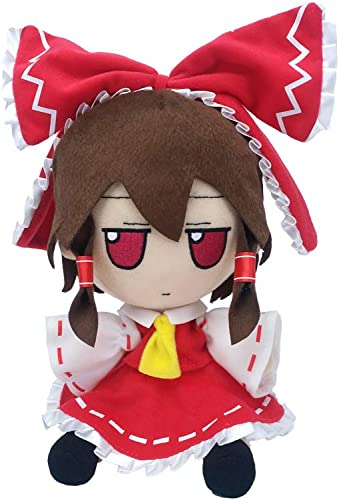 high quality Cosplaydog Touhou new arrival Project Anime Plush Doll Stuffed Doll Project Hakurei Reimu Figure Doll Grils Toy new arrival One Size sale