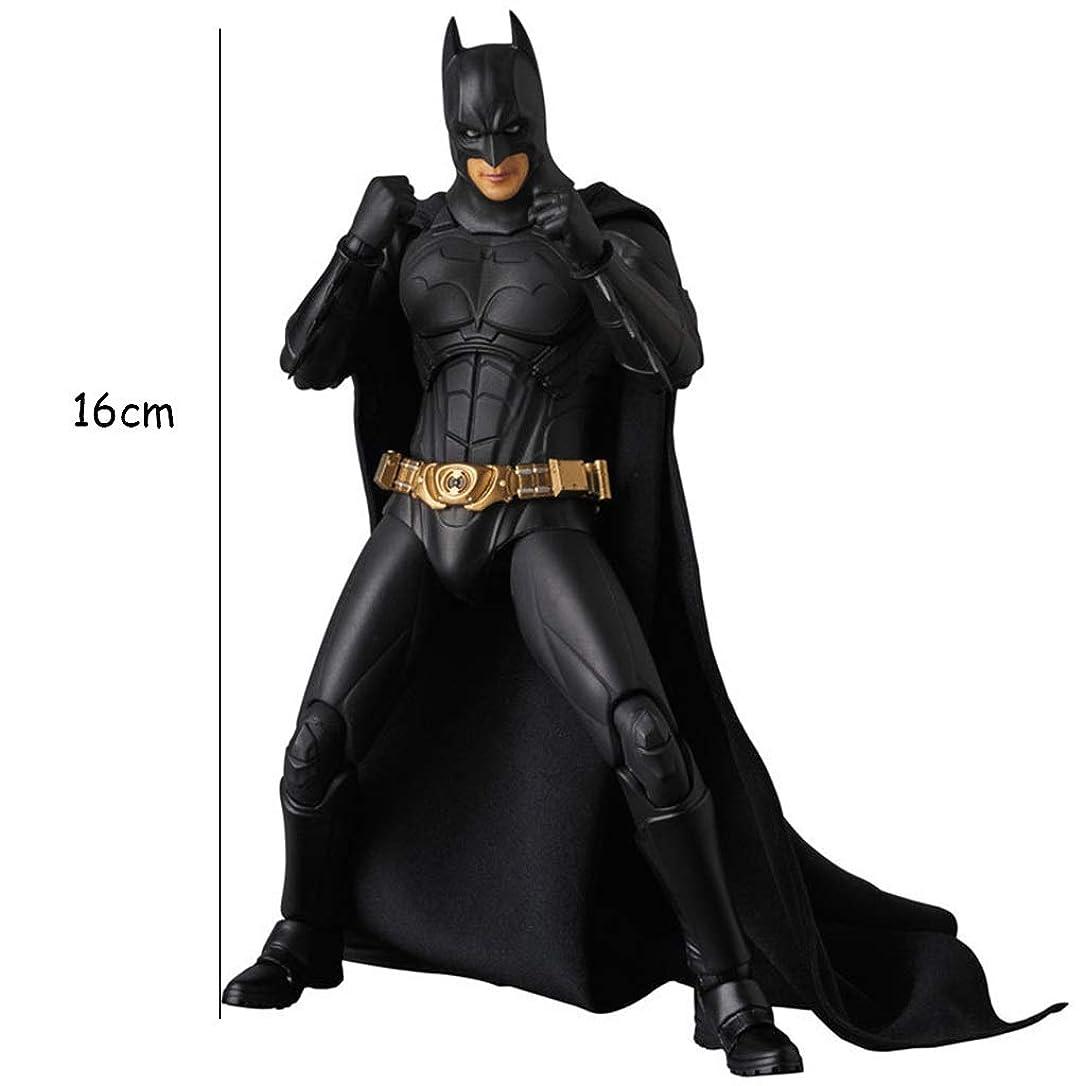 予報規定バスルーム映画モデル、PVC子供のおもちゃコレクション像、デスクトップの装飾的なおもちゃ像のおもちゃモデル、ブルースウェイン(16cm) JSFQ