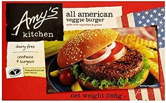 Amys Kitchen Hamburguesa Americana Con Vegetales 285g ...