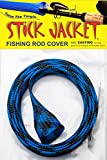 RITE-HITE Orin Briant Stick Jacket Fishing Rod Covers - Ltd Casting Stick Jacket, Comes in a Variety of Colors; Keeps Your Rod Safe and Tangle Free (Black Sapphire)