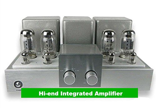 GOWE Hi-end Integrated Amplifier KT88 x 4 Power Vintage Tube Amp Output...