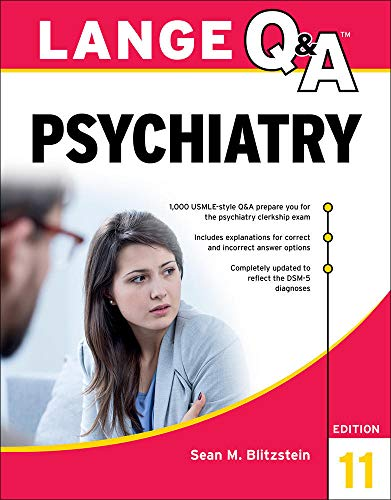 Lange Q&A Psychiatry, 11th Edition