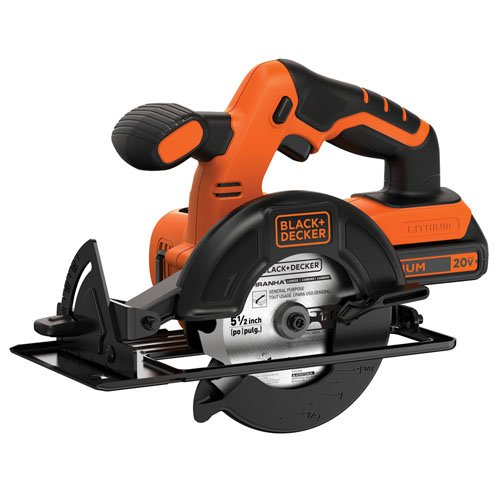 BLACKDECKER 20V MAX 51/2Inch Cordless Circular Saw BDCCS20C