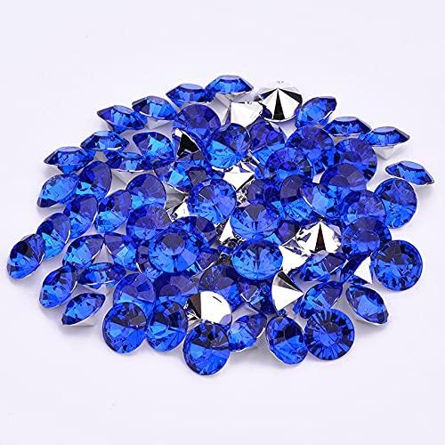 WEIMEIDA SHUIZUAN824 10000 unids 2/3 / 4mm Rhinestones Piedras de Cristal Strass de acrílico Gemas de Clavo Decoración del Pendiente De Coser (Color : 6, Size : 2mm 10000pcs)