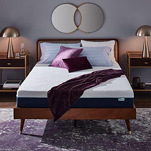 Sleep Innovations Hudson Hybrid Cooling Memory Foam Innerspring Mattress, 12 Inches, King