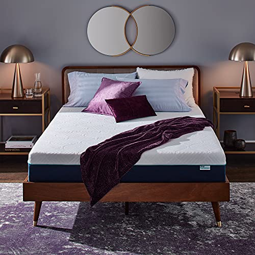 Sleep Innovations Hudson Hybrid Cooling Memory Foam Innerspring Mattress, 12 Inches, Queen