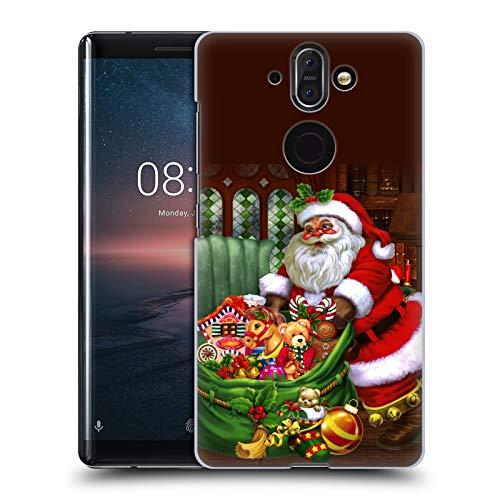 Head Case Designs Oficial Simone Gatterwe Los Regalos Invierno Eterno Carcasa rígida Compatible con Nokia 8 Sirocco