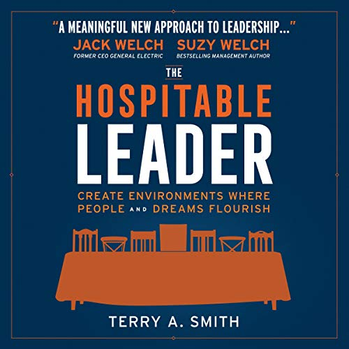 The Hospitable Leader audiobook cover art