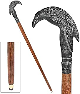 Bastón Steampunk Raven Gothic