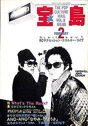 宝島 1981年 2月号 RCサクセション エネルギー・ライブ 山崎春美 パンタ 白竜 他