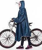 【2020年最新版】レインコート前丈:120cm 後丈:105cm 袖丈:84cm 重量:0.85kg カラー:ブルー色。 【適応身長】サイズ:フリーサイズ、適応身長:158〜185cm(男女兼用)、 シーズン:一年中通用。 【防水&耐摩が抜群】ナイロンオックスフォード素材は防水性、耐摩耗性に優れた素材です。表面には撥水加工、縫い目には防水加工を施しています。*レインコートにの表面には防水コーティングを持っています。我が社の工場で大量生産をしてから 、日本のFBA倉庫へ直接に出荷して、風通しがな...