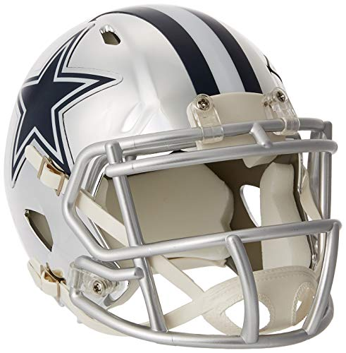 Riddell Mini Football Helm - NFL Chrome Dallas Cowboys