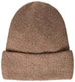 PIECES Damen PCJOSEFINE Wool Hood NOOS Strickmütze, Braun Ginger Snap, One Size