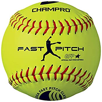 CHAMPRO USSSA 11  Fast Pitch Softball - Durahide Cover .47 COR  CSB43