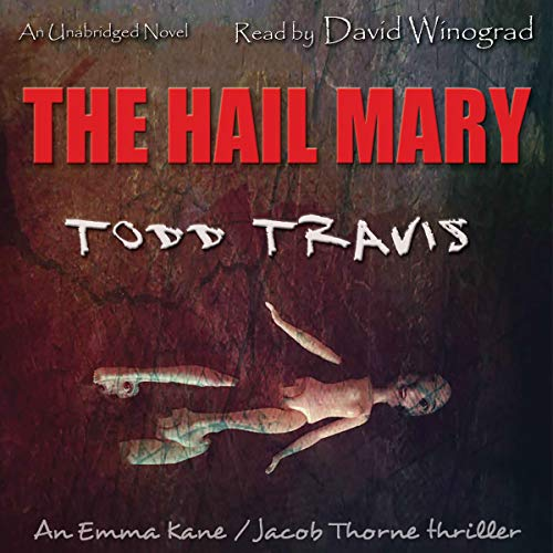 The Hail Mary audiobook cover art