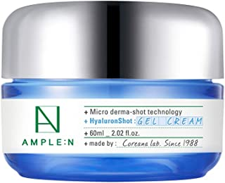 [AMPLE:N] HYALURON SHOT GEL CREAM 2.02 fl. oz. (60ml) - Long-lasting Moisture Relief for your Extra-dry Skin