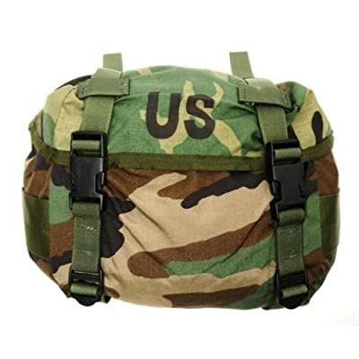 NEW US Army Military Genuine Issue GI Surplus Field Training Waist Utility Fanny Butt Pack ALICE Woodland Camouflage Bag