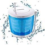 CJSWT Mini manivela Lavadora Manual portátil de la Vuelta no eléctricos Lavadora Secadora, encimera Lavadora para Acampar, Apartamentos en Dormitorio del hogar