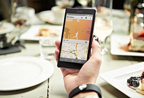 Sony Mobile SWR10 SmartBand Aktivitätstracker Schlaftracker Fitness Tracker – Schwarz - 6