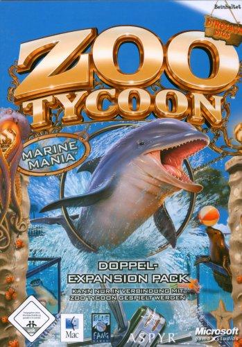 Zoo Tycoon Marine Mania und Dinosaur Digs - [Mac]